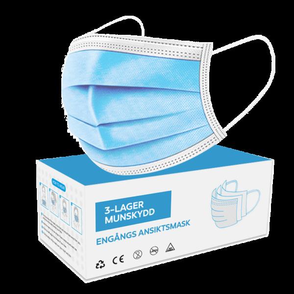 Munskydd - Andningsmask - Skyddsmask