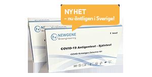Covid-19 antigentest för hemmabruk